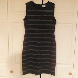 Calvin Klein Knit Dress w/ Rhinestones